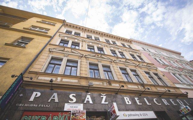 Отель Good Time Prague Duplex Чехия, Прага - отзывы, цены и фото номеров - забронировать отель Good Time Prague Duplex онлайн вид на фасад
