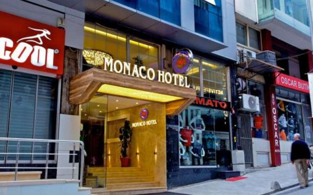 Monaco Hotel вид на фасад