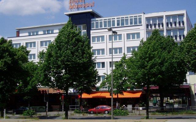 Отель Cityhotel Monopol вид на фасад