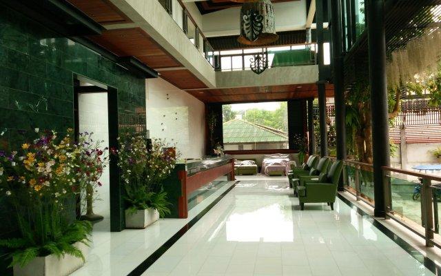 Отель Green View Village Resort вид на фасад