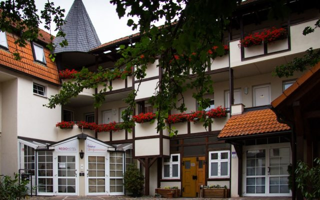 Hotel Wolmirstedter Hof вид на фасад