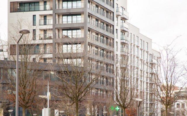 Апартаменты Sweet Inn Apartments Etterbeek Брюссель вид на фасад