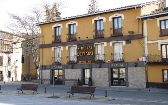 Отель Hostal Beti-jai Испания, Аойс - отзывы, цены и фото номеров - забронировать отель Hostal Beti-jai онлайн вид на фасад
