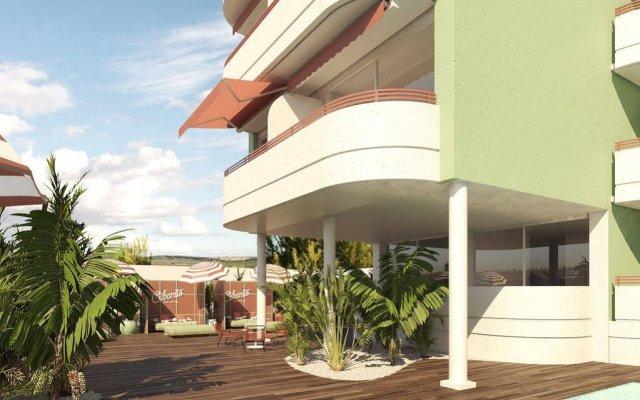 Отель Apartamentos El Coto вид на фасад