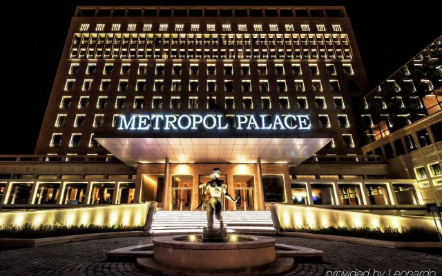 Metropol Palace, A Luxury Collection Hotel Белград вид на фасад