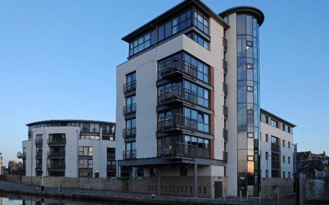 Отель Fountain Court Apartments - EQ2 Великобритания, Эдинбург - отзывы, цены и фото номеров - забронировать отель Fountain Court Apartments - EQ2 онлайн вид на фасад