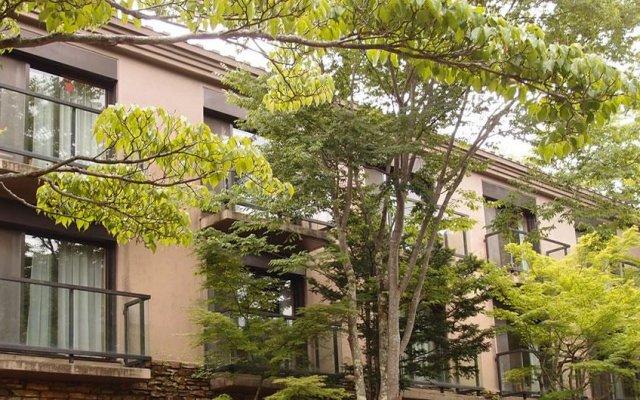 Отель Yamanakako Garden Villa Яманакако вид на фасад