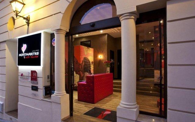 Hotel Montmartre Mon Amour вид на фасад