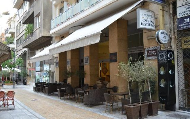 Athens Lycabettus Hotel вид на фасад