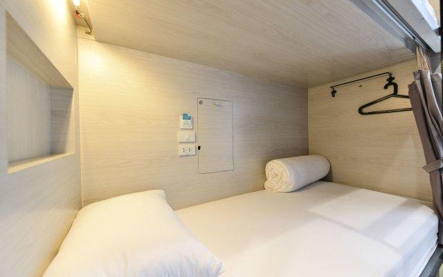 The Cube Hostel комната для гостей