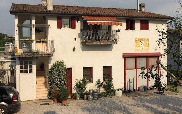 Отель B&B Zanin Италия, Вальдоббьадене - отзывы, цены и фото номеров - забронировать отель B&B Zanin онлайн вид на фасад