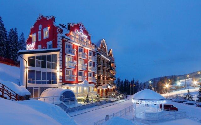 Гостиница Chevalier Hotel & SPA Украина, Буковель - отзывы, цены и фото номеров - забронировать гостиницу Chevalier Hotel & SPA онлайн вид на фасад