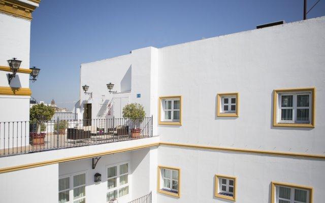 Отель Vincci la Rabida вид на фасад