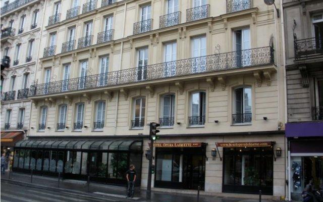 Отель Hôtel Opera Lafayette вид на фасад