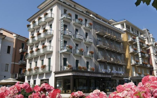 Отель Italie Et Suisse Стреза вид на фасад