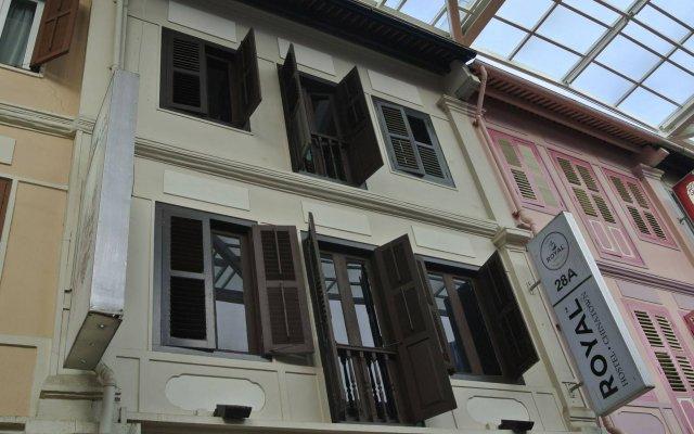 Royal Hostel Сингапур вид на фасад