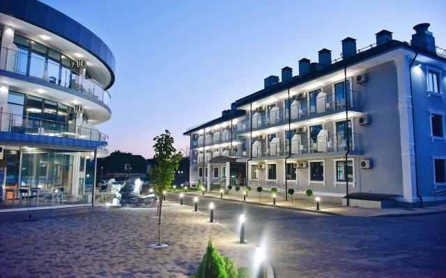 Гостиница Marine Palace вид на фасад