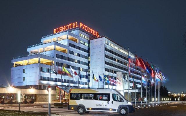 Гостиница Русотель в Москве - забронировать гостиницу Русотель, цены и фото номеров Москва вид на фасад