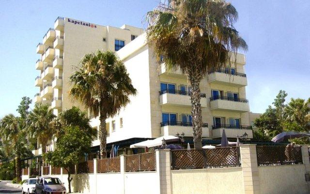 Kapetanios Limassol Hotel in Limassol, Cyprus from 109$, photos, reviews - zenhotels.com hotel front