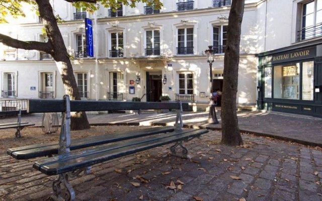 Отель Timhotel Montmartre Париж вид на фасад