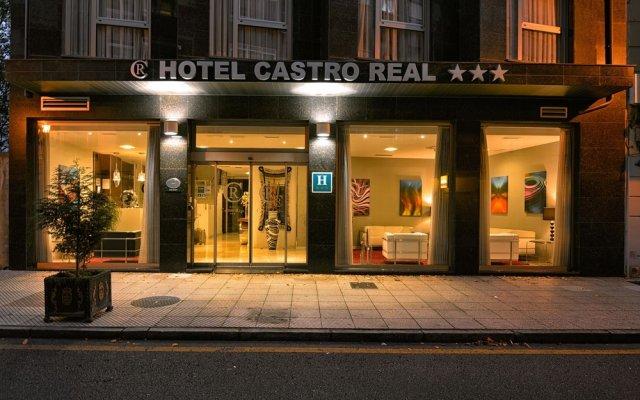 Отель Castro Real Испания, Овьедо - отзывы, цены и фото номеров - забронировать отель Castro Real онлайн вид на фасад