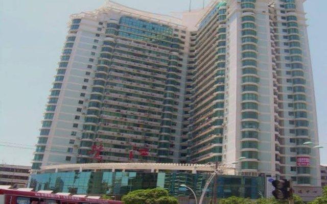 Апартаменты Xiamen Q's Home Apartment Сямынь вид на фасад