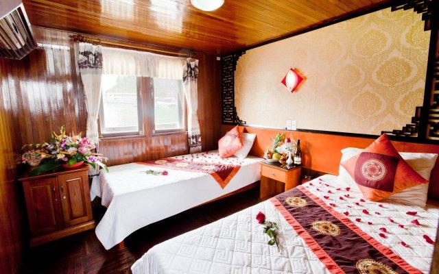 Отель Halong Bay Aloha Cruises комната для гостей
