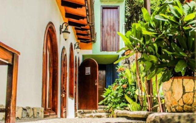 Hotel Cuna Maya Копан-Руинас вид на фасад