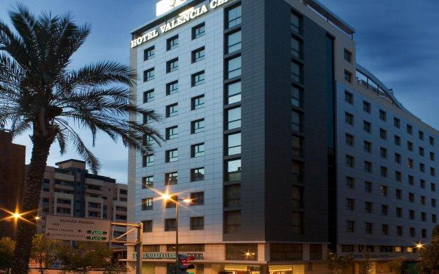 Отель Valencia Center Валенсия вид на фасад