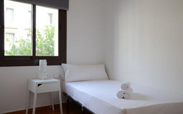 Апартаменты Beach Apartments Барселона комната для гостей
