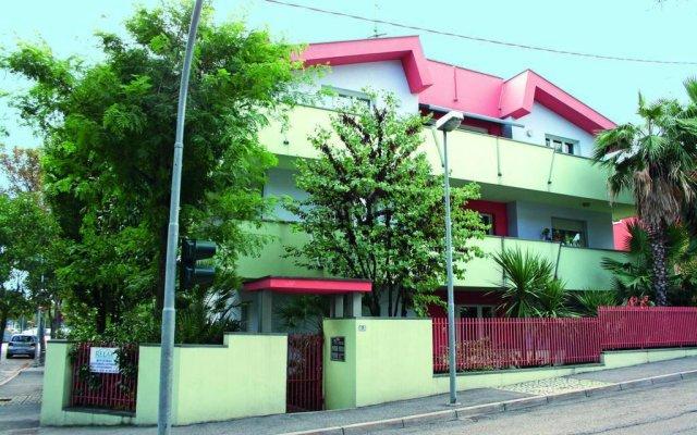 Отель Residence Villa Chiara вид на фасад