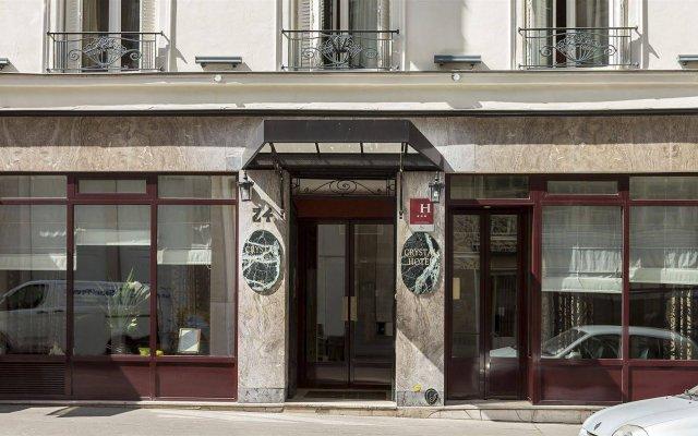Отель Crystal Hotel Франция, Париж - 8 отзывов об отеле, цены и фото номеров - забронировать отель Crystal Hotel онлайн вид на фасад