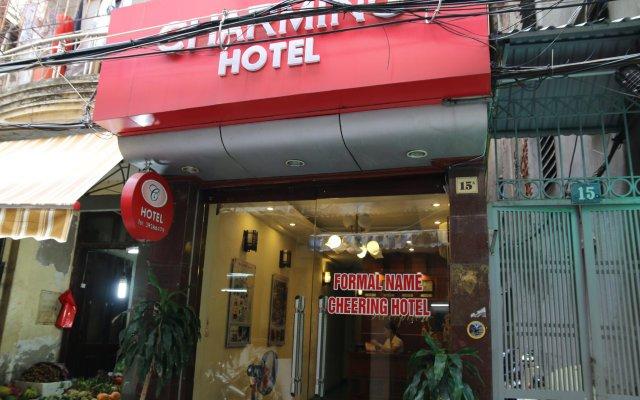 Hanoi Charming Hotel Ханой вид на фасад