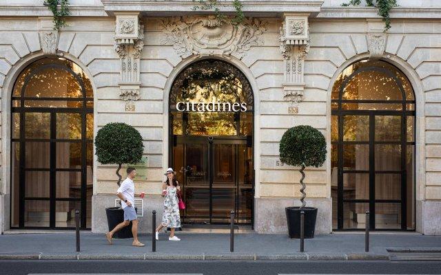 Отель Citadines Saint-Germain-des-Prés Paris Париж вид на фасад