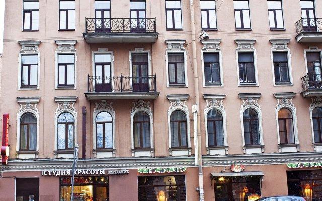 Мини-отель Акварели на Восстания вид на фасад