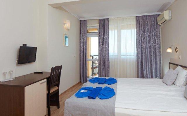 Отель Family Hotel Milev Болгария, Свети Влас - отзывы, цены и фото номеров - забронировать отель Family Hotel Milev онлайн комната для гостей