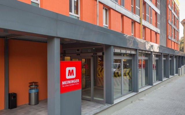 Отель MEININGER Milano Garibaldi вид на фасад