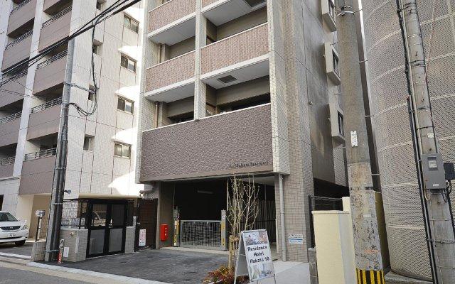 Residence Hotel Hakata 10 Хаката вид на фасад