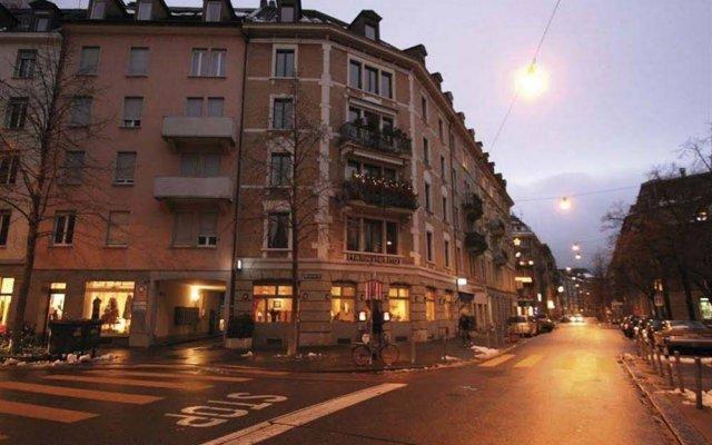 Отель Swiss Star Aussersihl Швейцария, Цюрих - отзывы, цены и фото номеров - забронировать отель Swiss Star Aussersihl онлайн вид на фасад
