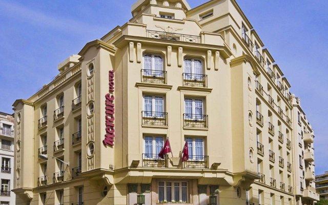 Отель Mercure Nice Centre Grimaldi Франция, Ницца - 5 отзывов об отеле, цены и фото номеров - забронировать отель Mercure Nice Centre Grimaldi онлайн вид на фасад