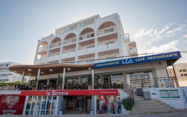 Отель Lakiki вид на фасад