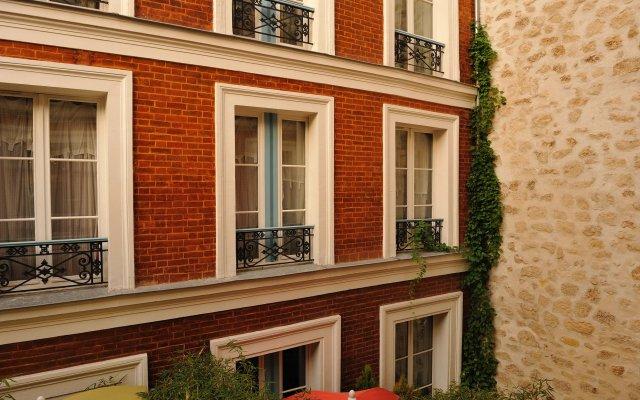 Отель Les Patios du Marais 1 вид на фасад