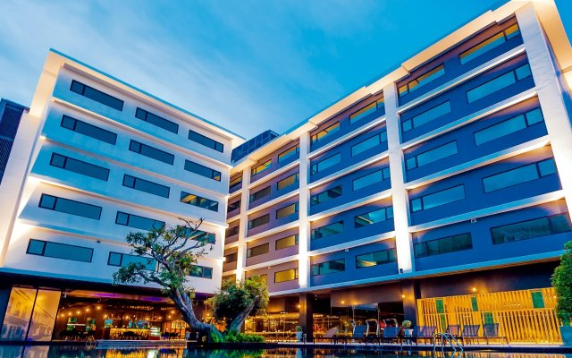 Отель Dara Phuket Пхукет вид на фасад