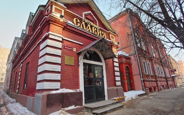 Гостиница Славия вид на фасад