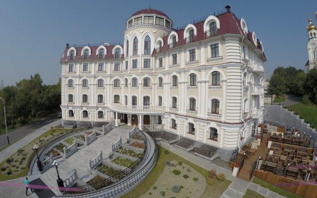 Гостиница Сопка вид на фасад