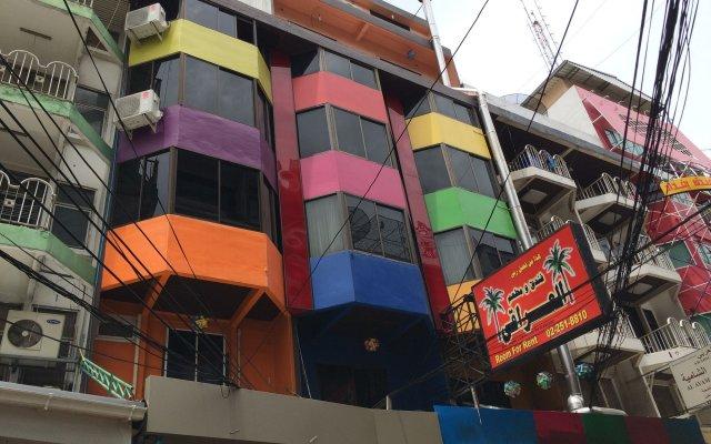 Отель Iraqi Residence Бангкок вид на фасад