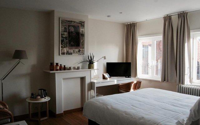 Отель de Voorplaats Бельгия, Брюгге - отзывы, цены и фото номеров - забронировать отель de Voorplaats онлайн комната для гостей