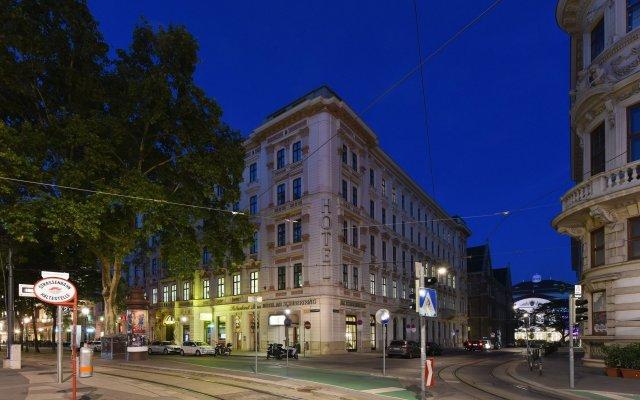 Hotel Am Schubertring вид на фасад
