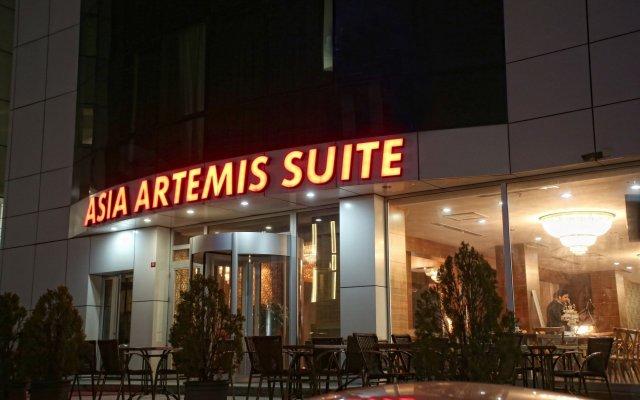 Отель Asia Artemis Suite вид на фасад