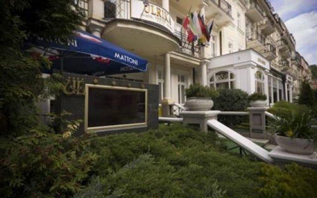 Hotel Ulrika Карловы Вары вид на фасад